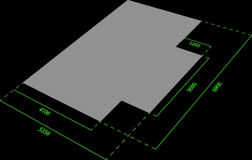 Plan d'occupation au sol de la cabine de peinture automobile EE7505CE