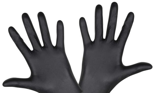 Vue des gants