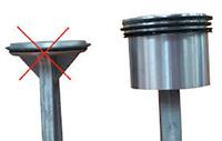 Exemple de pistons